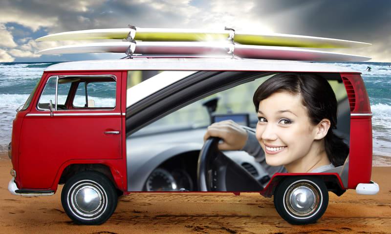 Vehicle Photo Frames