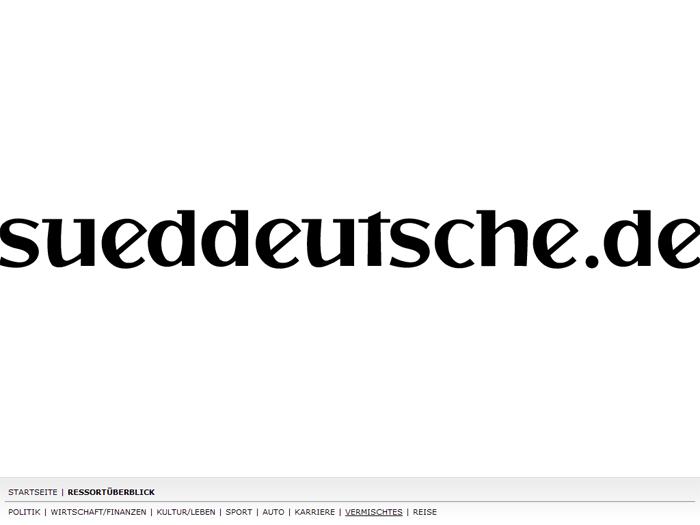 sueddeutsche.de Bildschirmschoner