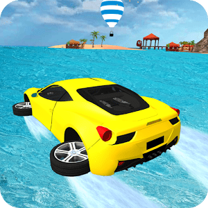 Water Surfer Car Floating Race