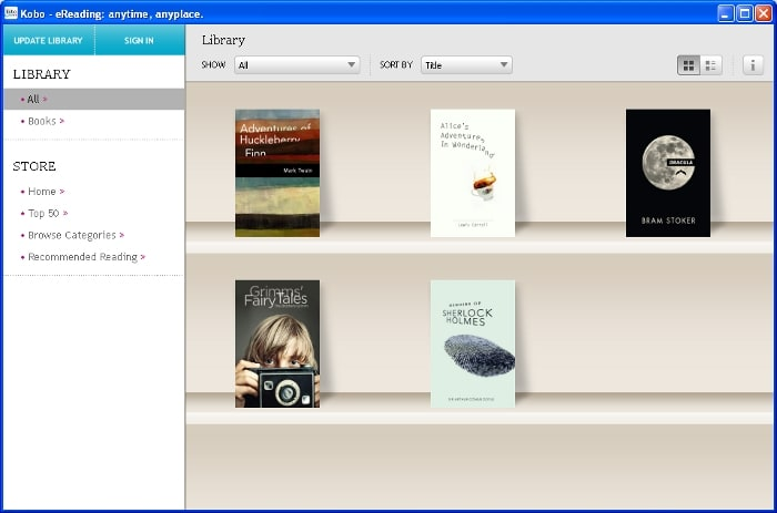 how to download books on kobo