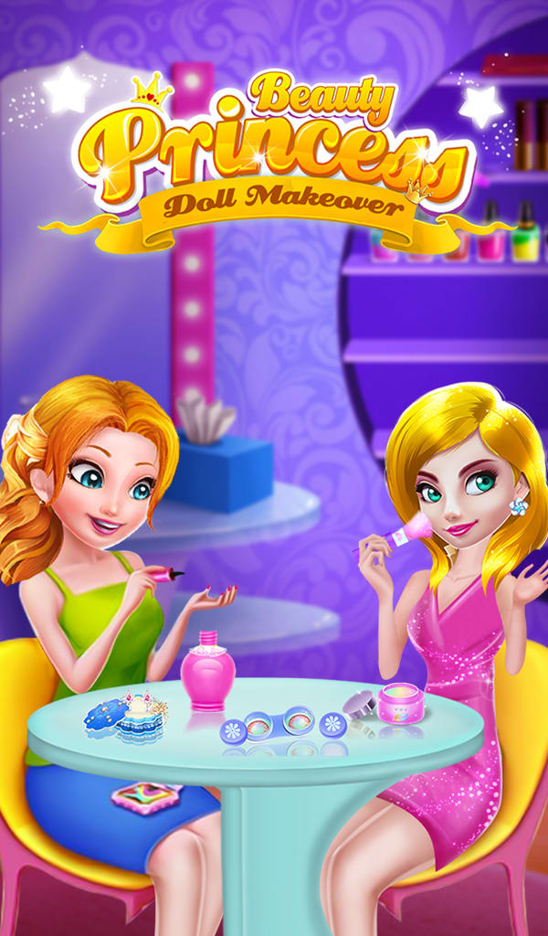 Beauty Princess Doll Makeover