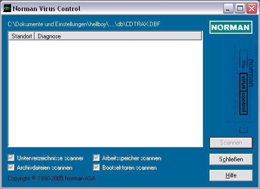 Norman Virus Control