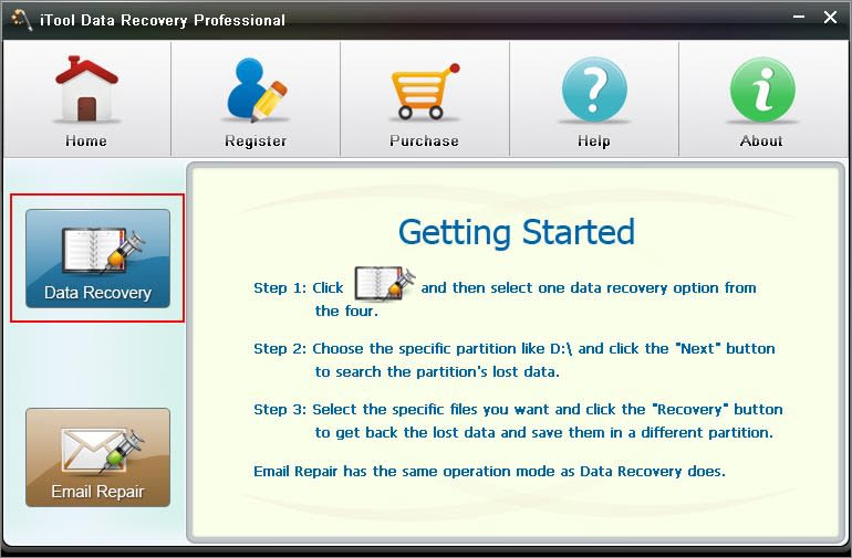 iTool Data Recovery Professional