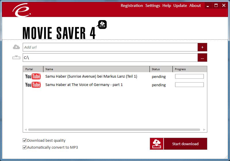 Movie Saver