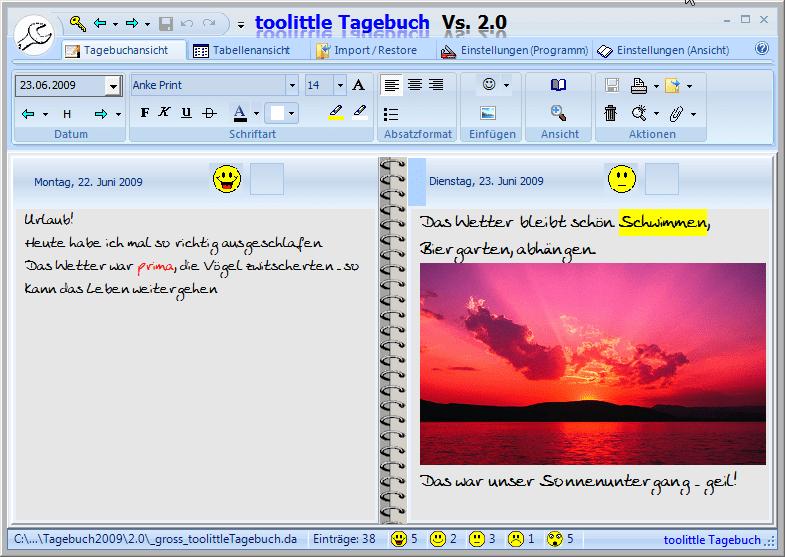 toolittle Tagebuch