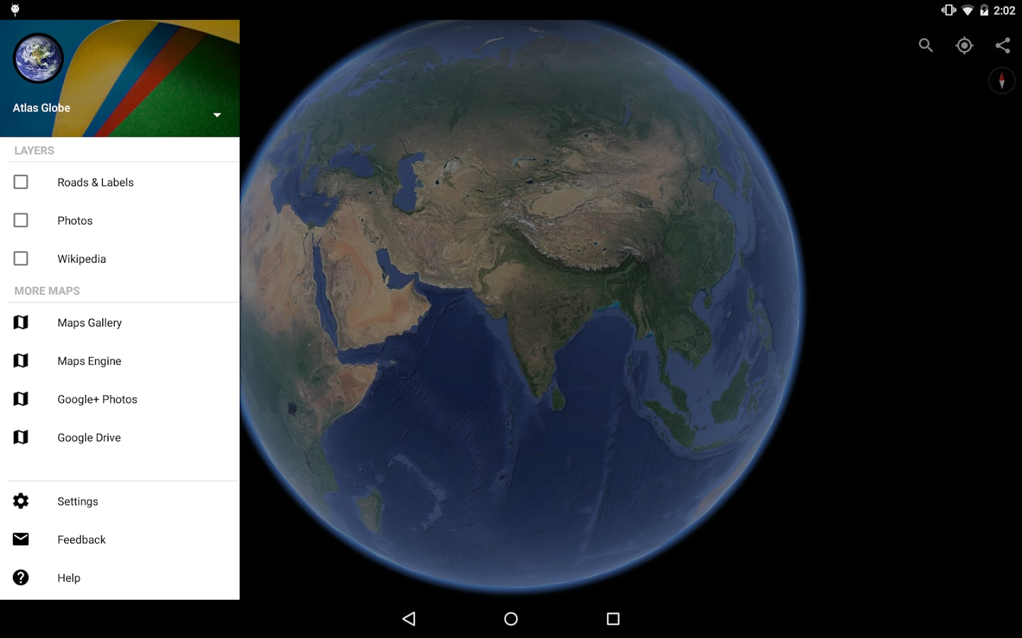 Google Earth For Android Download - World earth