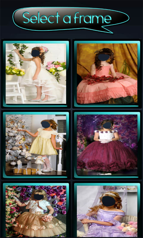 Little Princess Photo Montage