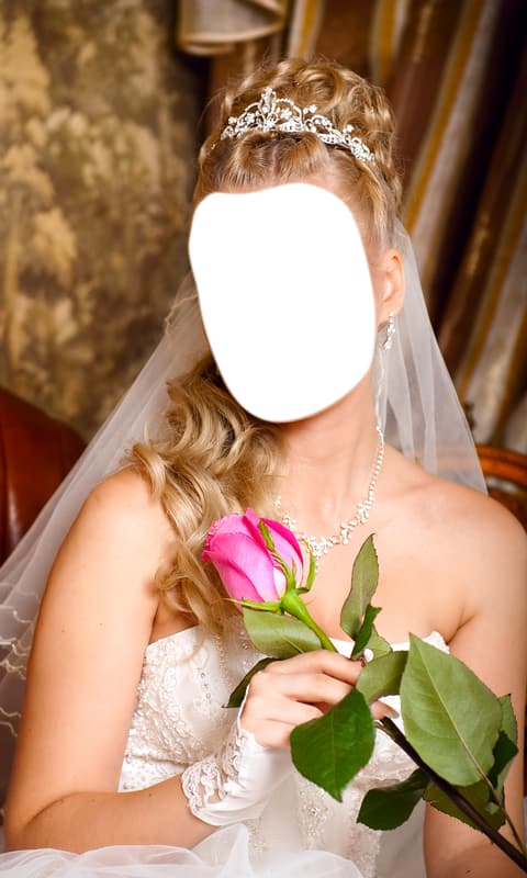Wedding Hairstyle Photo Montage