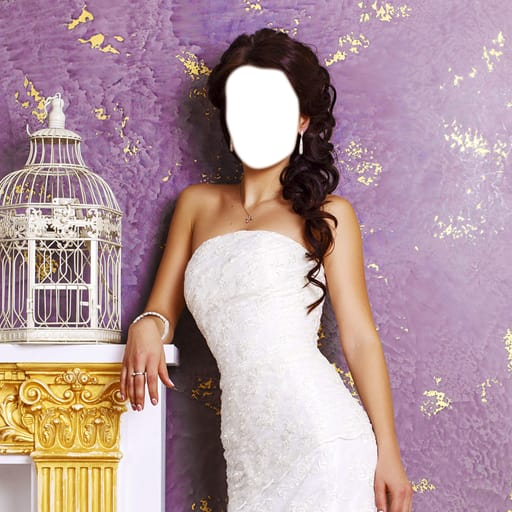 Wedding Gown Photo Montage