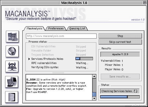 MacAnalysis X