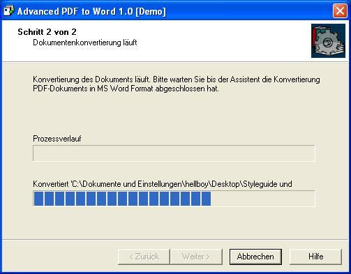 Advanced PDF-to-Word