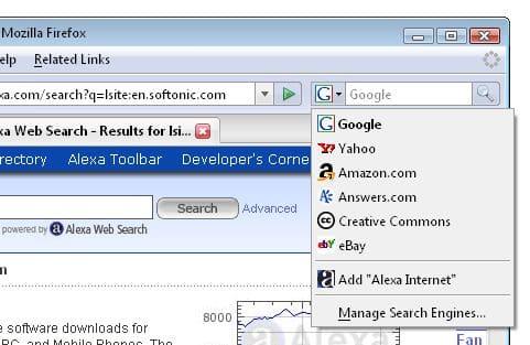Alexa Toolbar (Sparky)