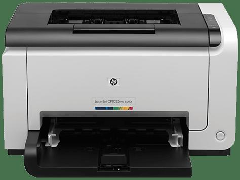 HP LaserJet Pro CP1025 Color Printer drivers