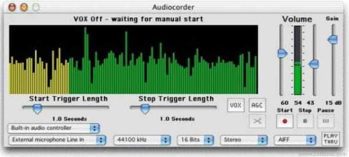 Audiocorder