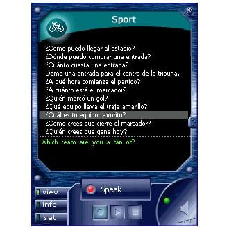 ECTACO Voice Translator English - Spanish