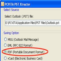 Convert PST to PDF Free
