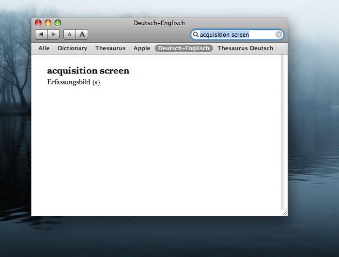 Beolingus deutsch englisch f r mac download for Dictionary englisch deutsch