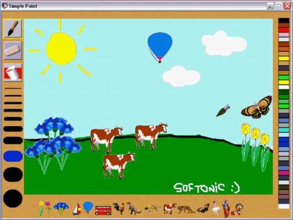 simple paint - Simple Drawing Pictures For Children