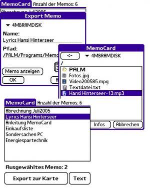 MemoCard