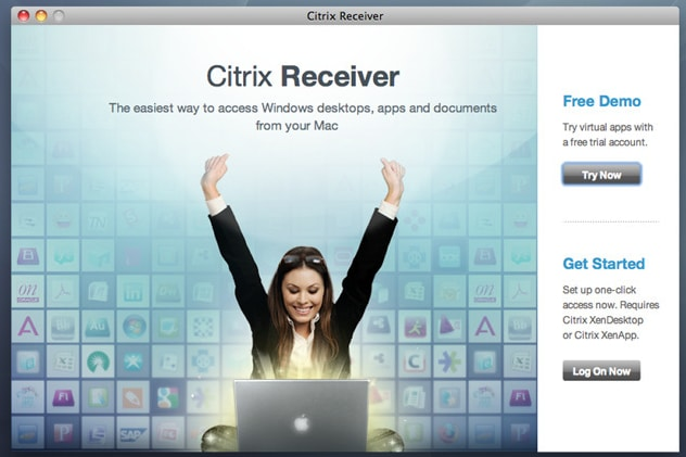 Citrix Receiver for Mac