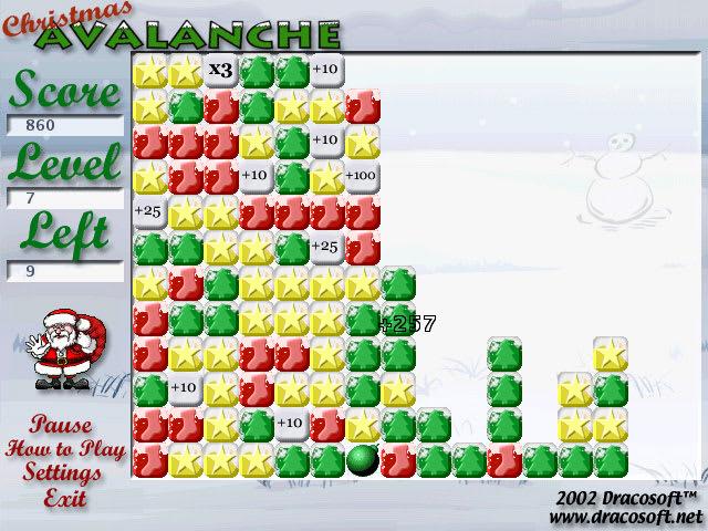 Christmas Avalanche