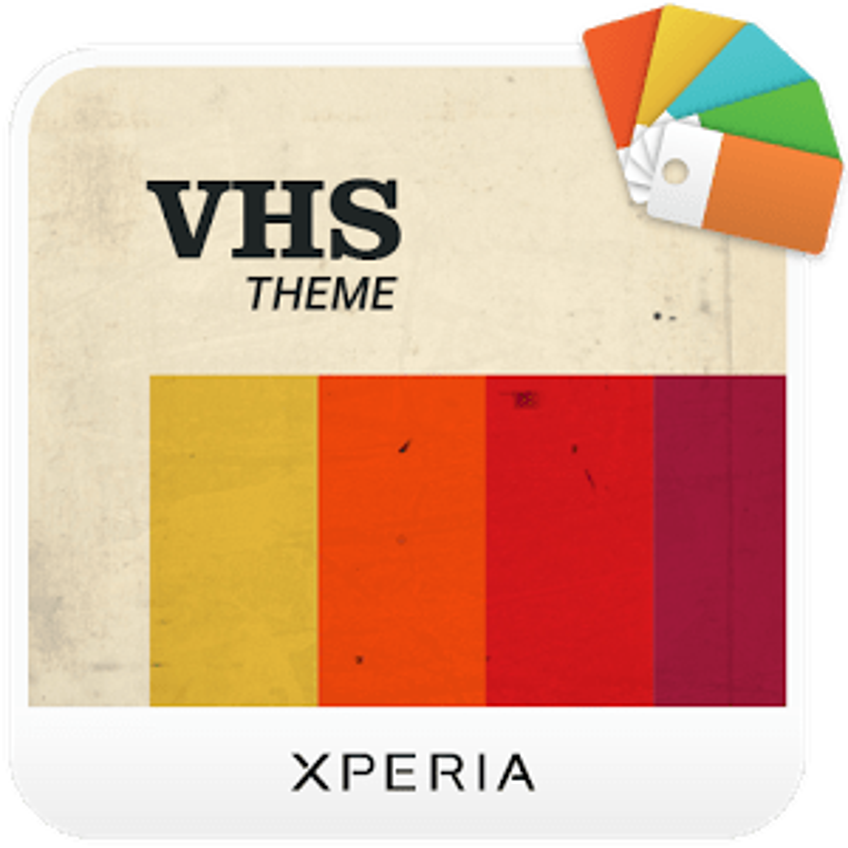 XPERIA™ VHS Theme