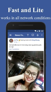 Messenger for Facebook Lite