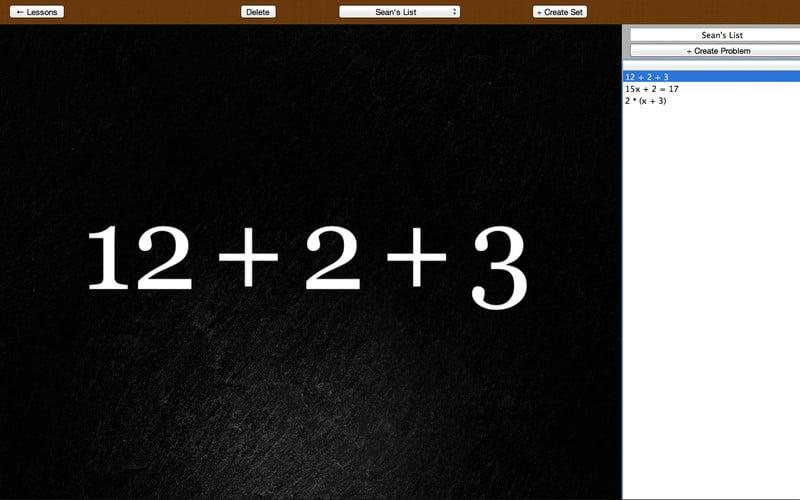 Algebra Touch