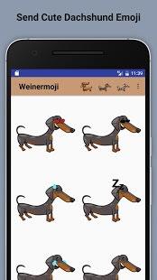 Weinermoji - Dachshund Emoji