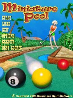 Miniature Pool!