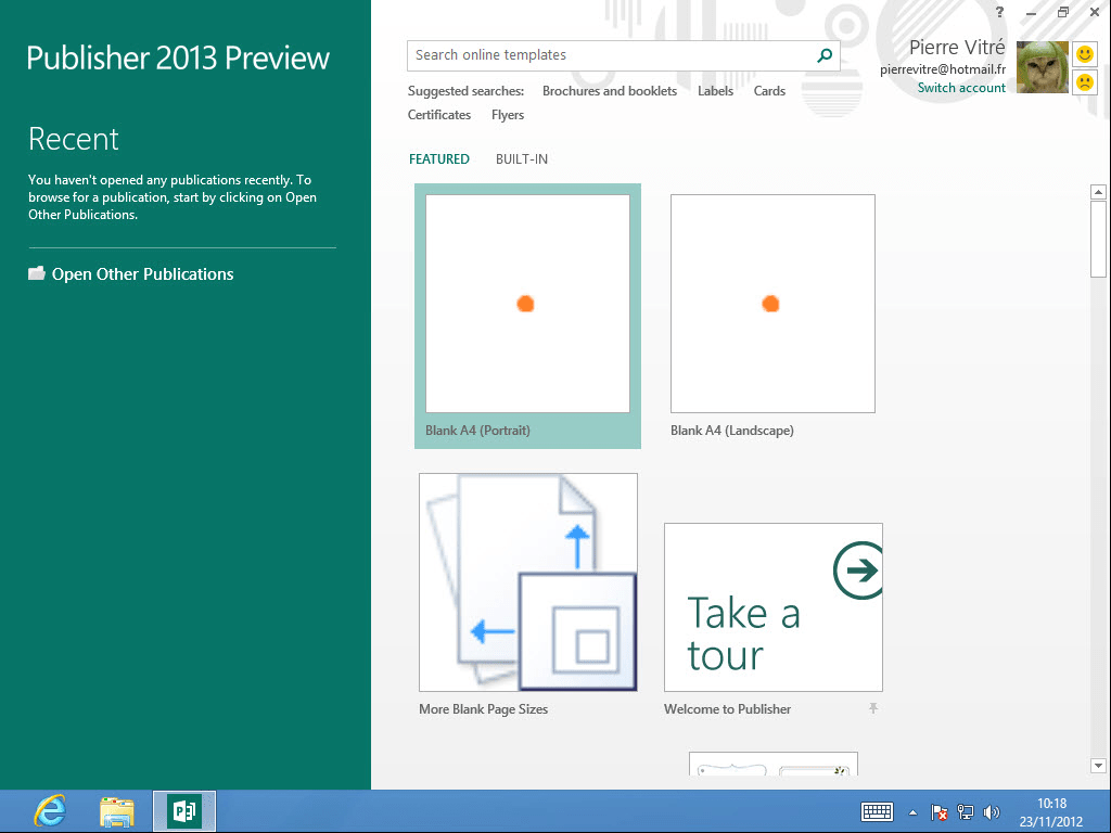 Microsoft Publisher 2013 Download