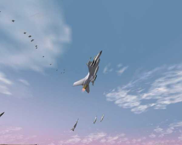 Flight Simulator Screensaver