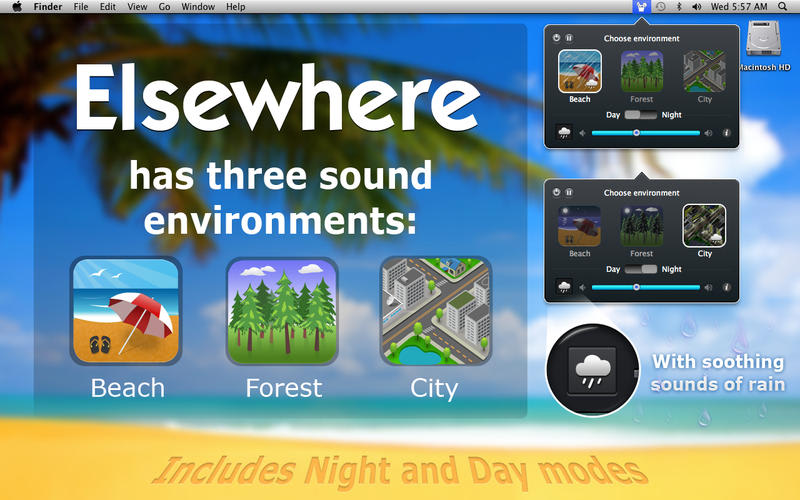 Elsewhere: Ambient Nature Sounds