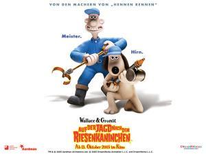 Wallpaper Wallace und Gromit: Auf der Jagd nach dem Riesenkaninchen