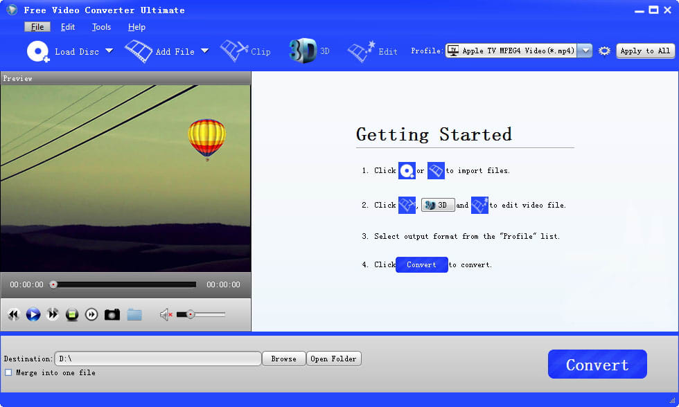 Free Video Converter Ultimate
