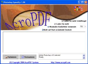 Adobe Photoshop SpeedUp