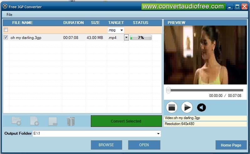 Free 3GP Converter