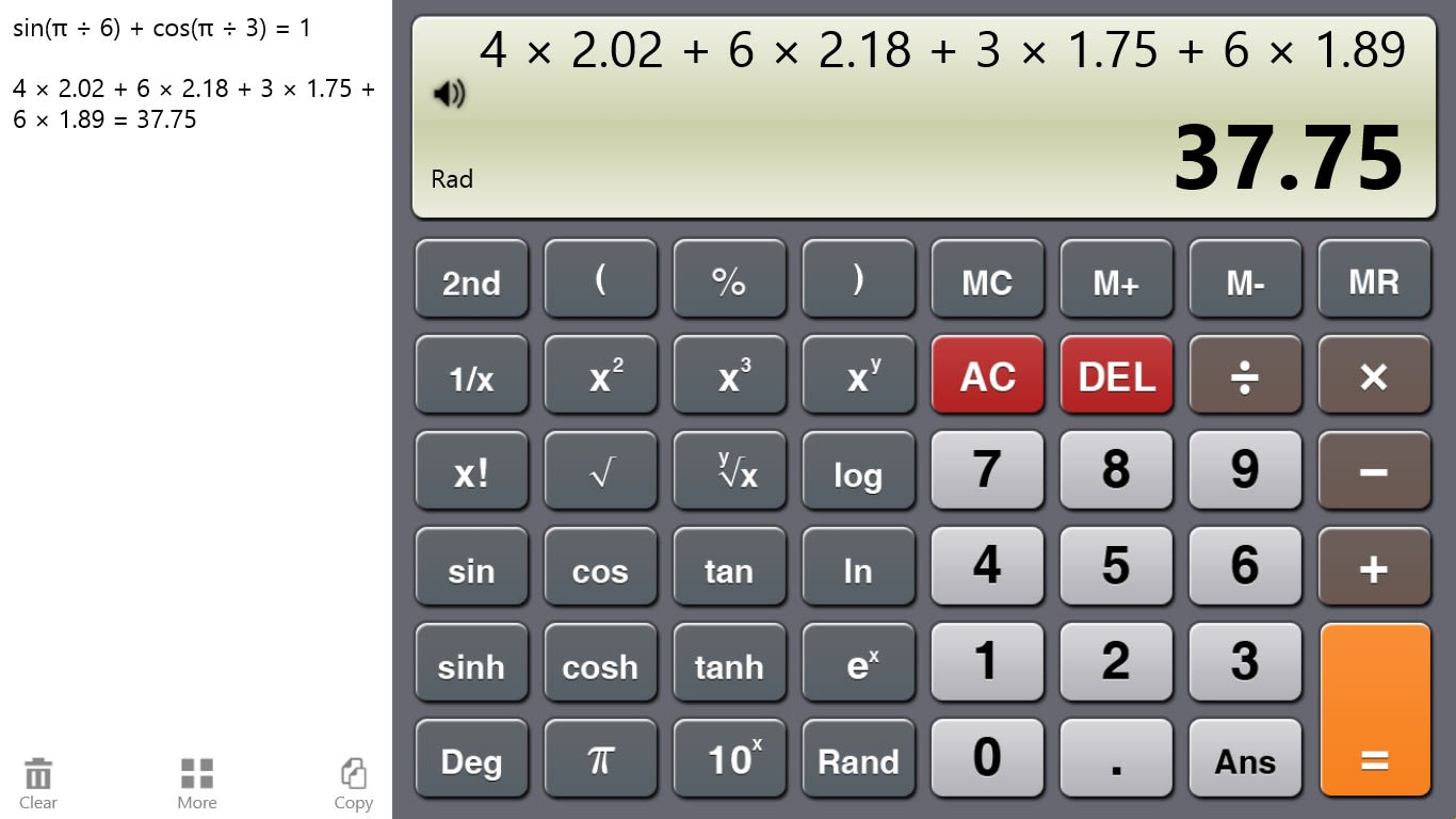 Calculator One