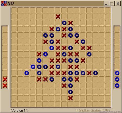 XO Game - Jeu de cinq en ligne