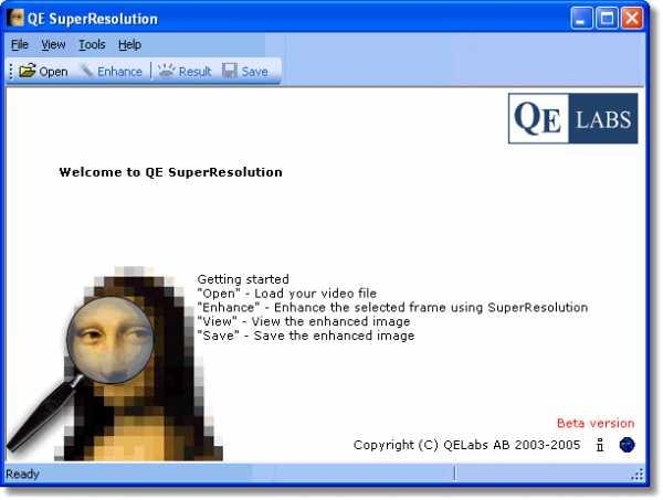 QE SuperResolution