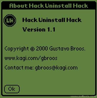 Hack Uninstall Hack