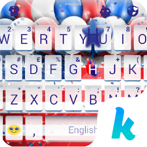 Keyboard - 4th of July New Free Theme 1