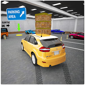 Street Prado Car Parking 3D