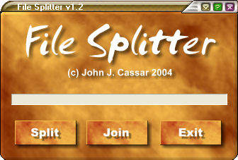 JJC File Splitter