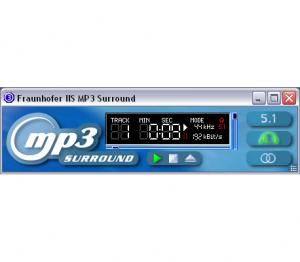 Fraunhofer IIS MP3 Surround Player