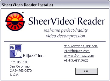 SheerVideo Reader