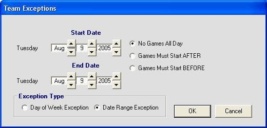 League Scheduler