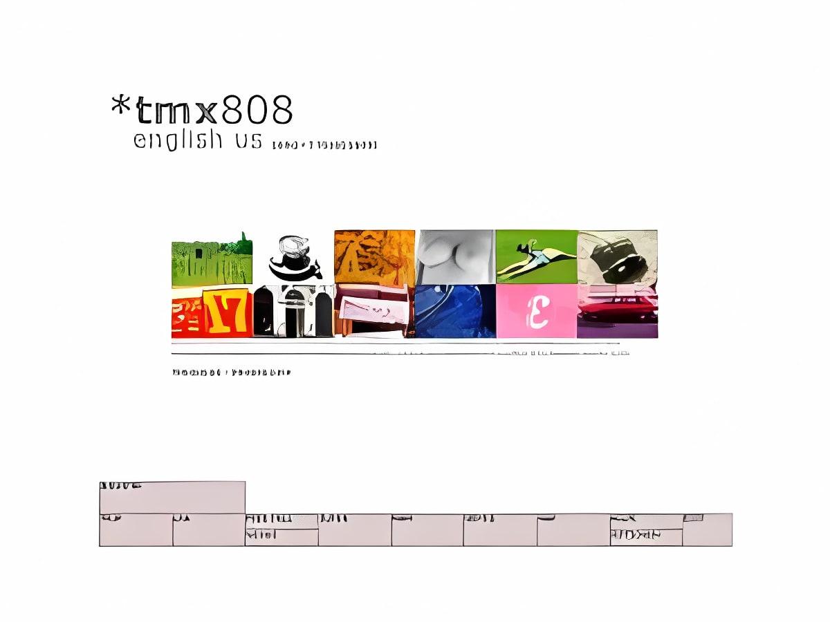 tmx808 Amerikanisches Englisch