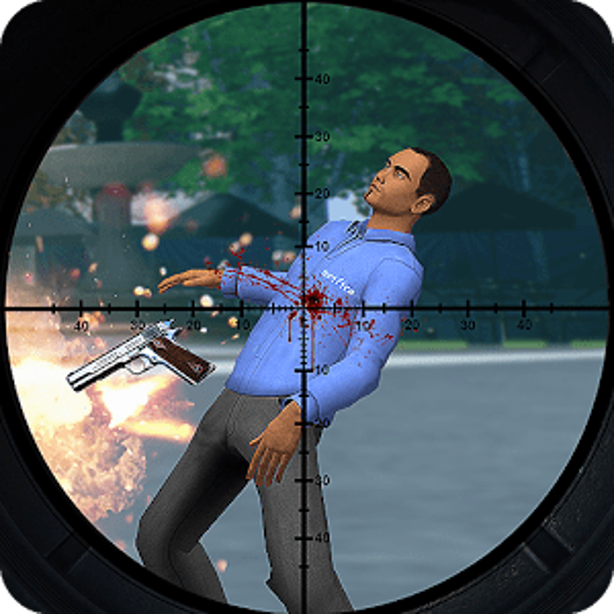 City Sniper Shooting 2017