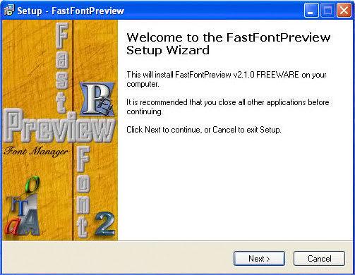 FastFontPreview